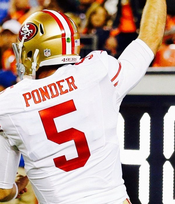 Christian Ponder never practiced play that scored decisive ...