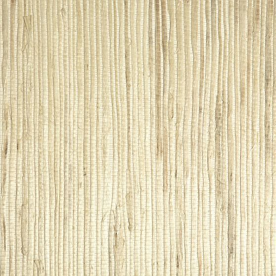 Natural Fog Grasscloth Wallpaper in 2020 Wallpaper