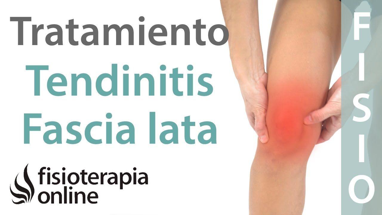 Tendinitis de la fascia lata - Tratamiento con ejercicios, automasajes y...
