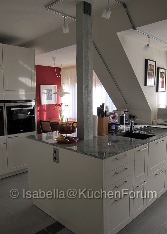 Landhaus-light-Stilmix unterm Dach - Fertiggestellte Küchen - Leicht - häcker küchen systemat