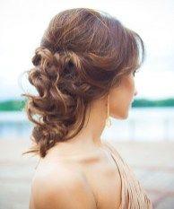 Beautiful wedding hairstyles ideas for medium length hair 35