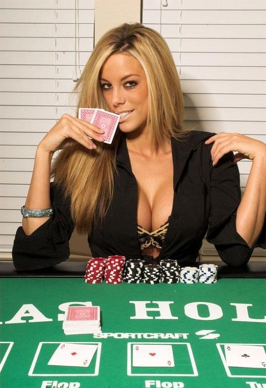 Hot wife strips at poker party
