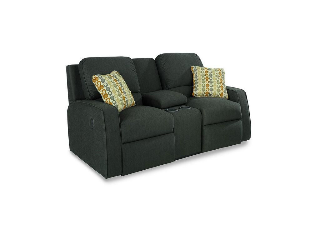 Miraculous La Z Boy Cole Full Reclining Loveseat W Console In Graphite Pdpeps Interior Chair Design Pdpepsorg