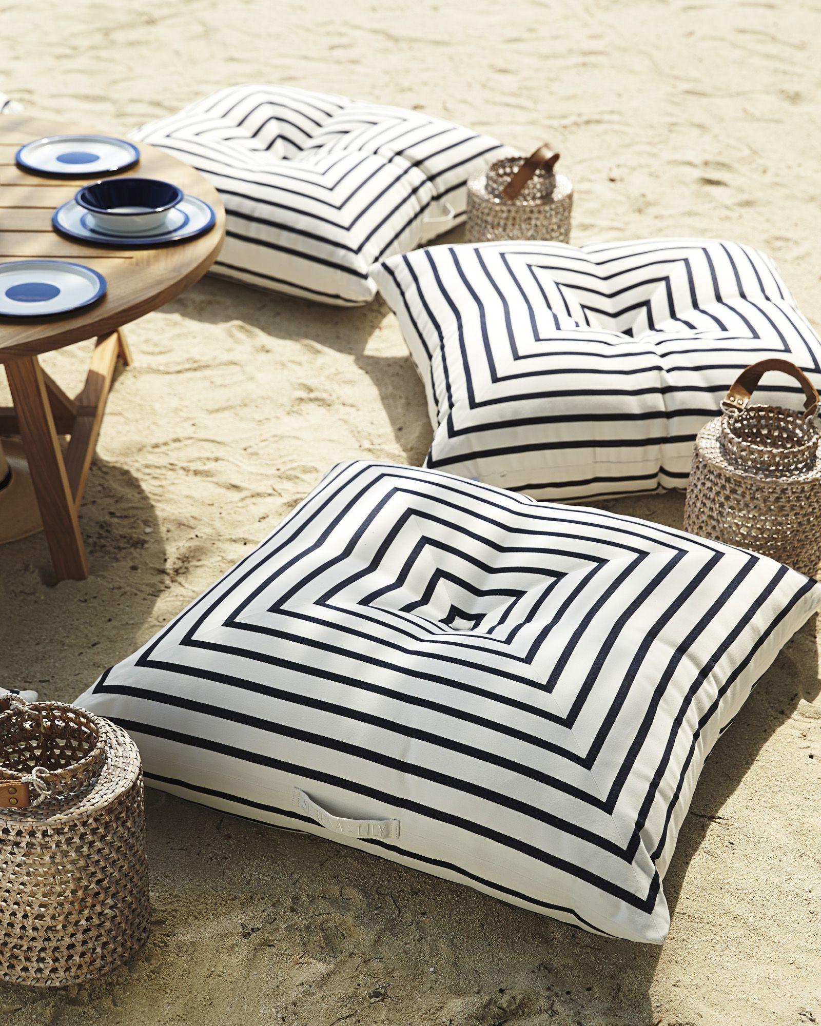 Harbour Island Floor Pillow Floor Pillows Pillows Outdoor Floor Cushions