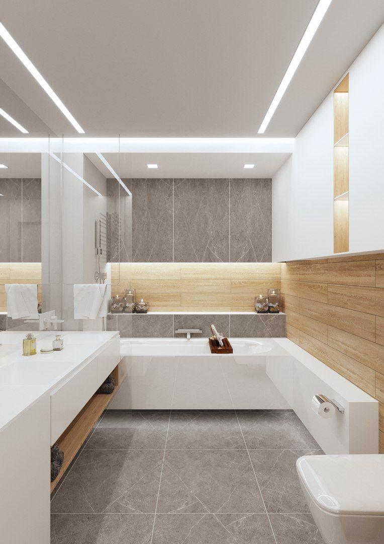 Modernes badezimmerdekor 2018 pin od aneta rafacz na Łazienka w   pinterest  cuarto de baño