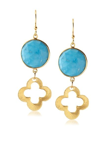 Privileged Turquoise Clover Drop Earrings, http://www.myhabit.com/redirect/ref=qd_sw_dp_pi_li?url=http%3A%2F%2Fwww.myhabit.com%2Fdp%2FB00I3BTPXQ
