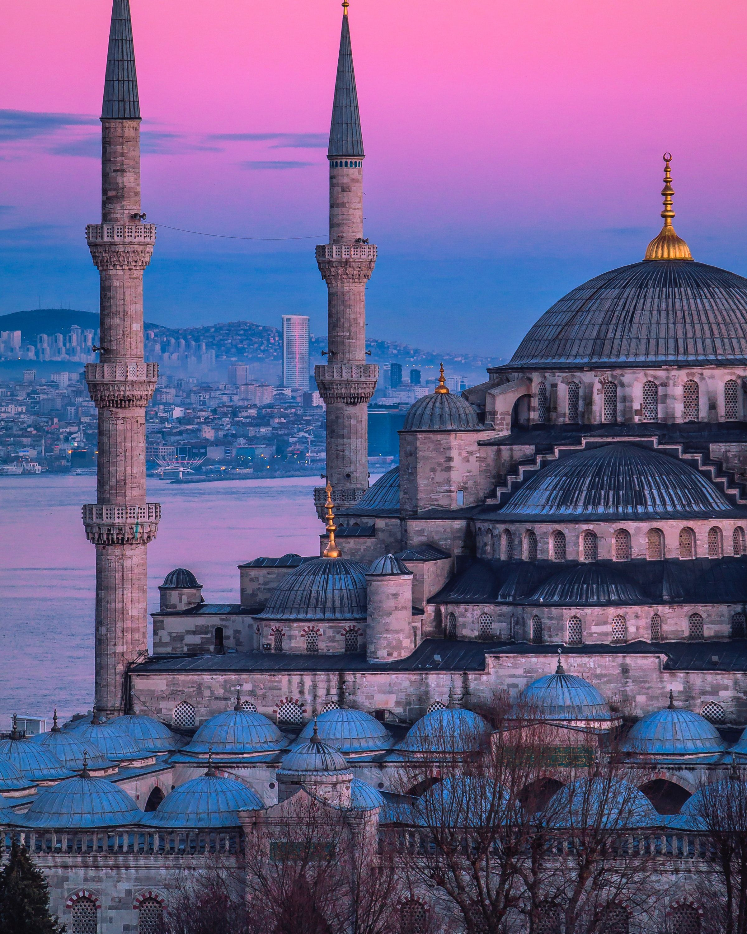Places Istanbul Mosque Cami Wallpapers Hd 4k Background For