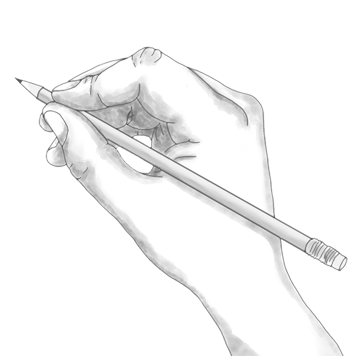 Free Image On Pixabay Hand Pencil Holding Sketch Contour Line Art How To Draw Hands Line Art