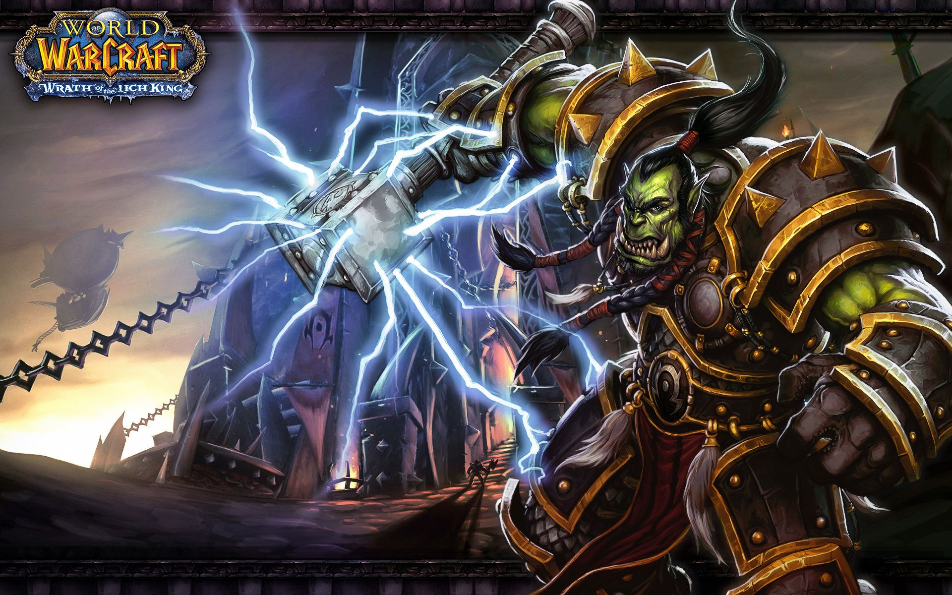 Wow Orc Shaman In 2019 World Of Warcraft Wallpaper World