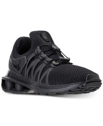0dc22b3305b Nike Women s Shox Gravity Casual Sneakers from Finish Line - Black ...