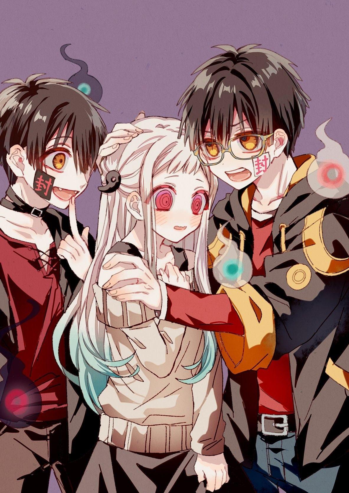 Sugar pills ( yashiro nene ). Tsukasa, Yashiro and Hanako   Hanako, Anime, Anime crossover