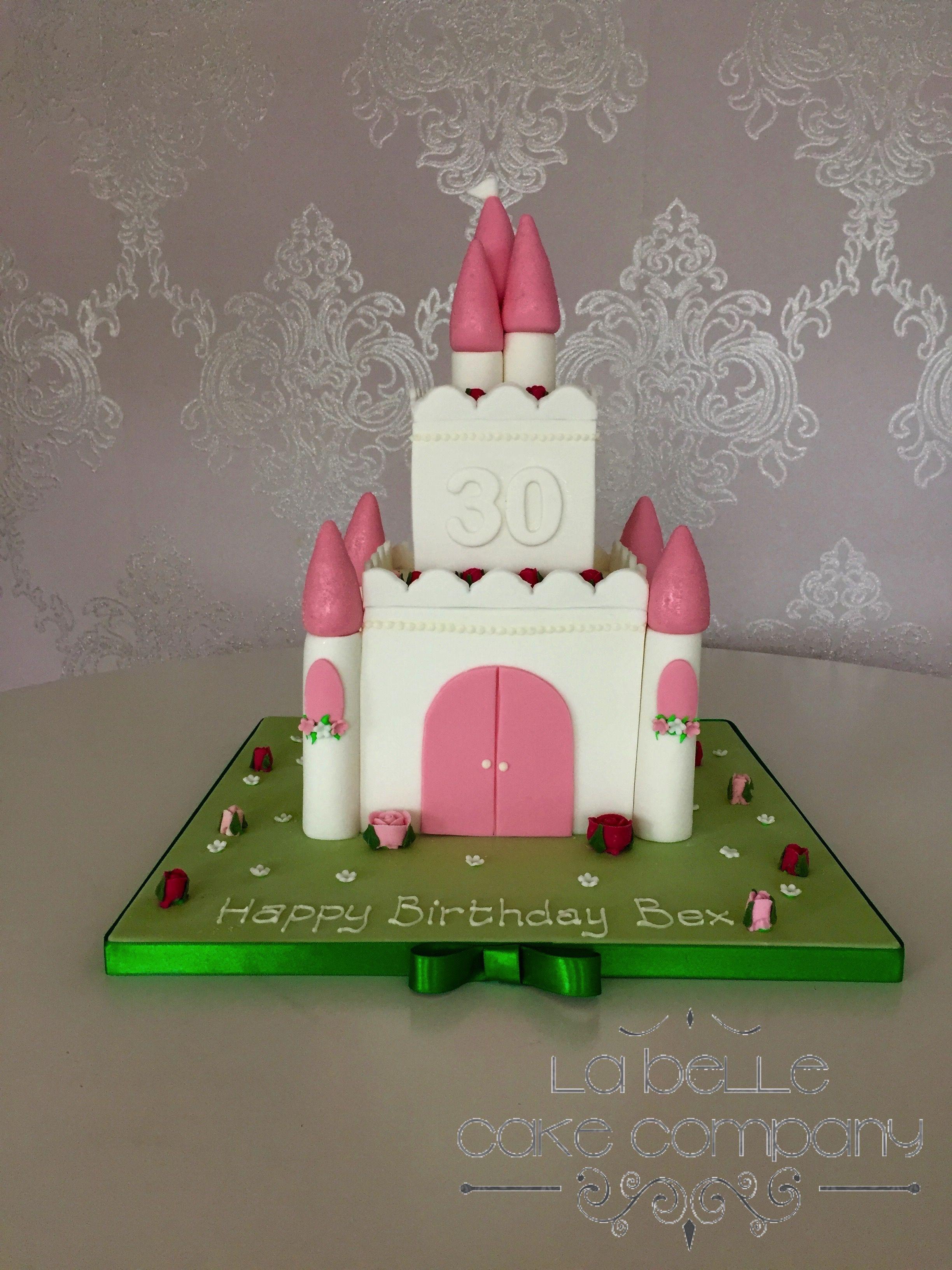 Princess Castle Birthday Celebration Cake By La Belle Cake Company