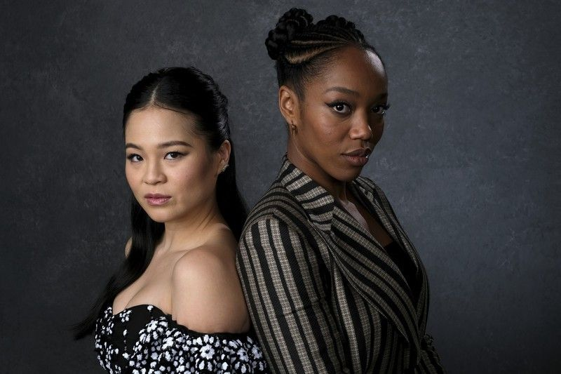 Kelly Marie Tran And Naomi Ackie Photographer Unknown Star Wars Cast Actresses Star Wars Trilogy