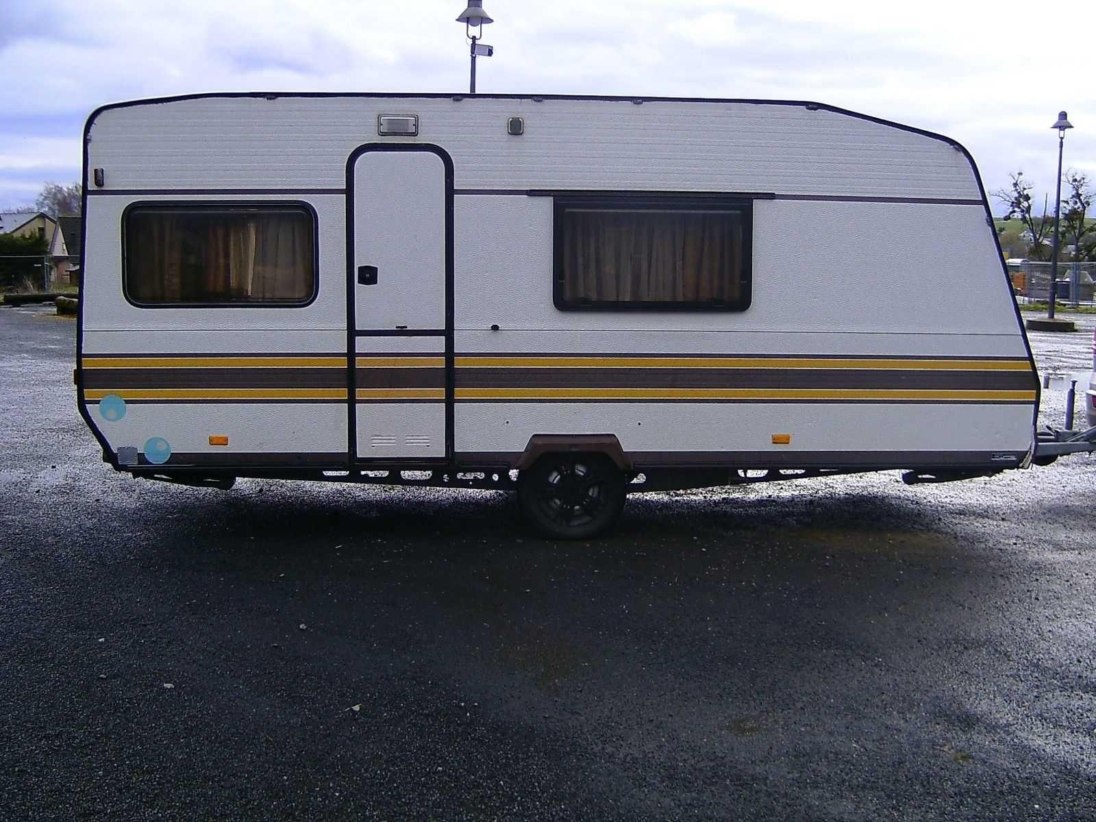 Wohnwagen Mit Großem Etagenbett : Ebay mobiles günstiger wohnwagen knaus südwind type