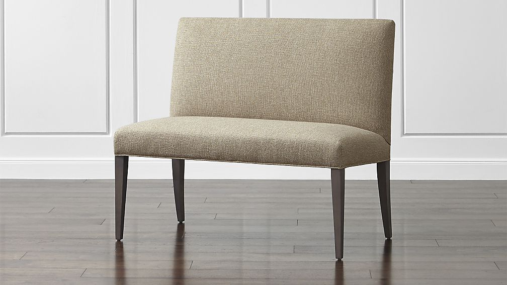 Miles 42 Upholstered Small Dining Banquette Bench Dining Room Bench Upholstered Dining Bench Dining Banquette Bench