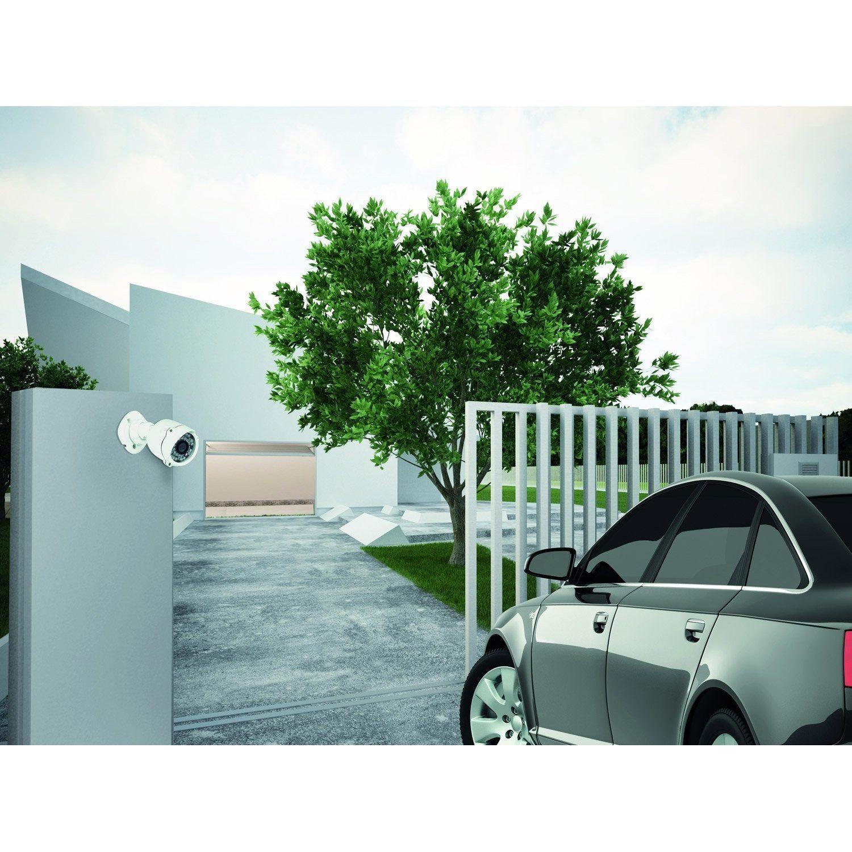 Camera De Surveillance Exterieure Filaire 369400 Blanc Legrand En 2020 Camera Surveillance Legrand Et Exterieur