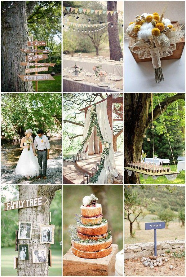 I Really Like The Family Tree Idea For Backyard Weddings Bbq Wedding
