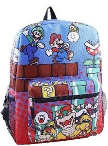 bdd1cce9ee0e Super Mario Backpack - Handful Picks for Players