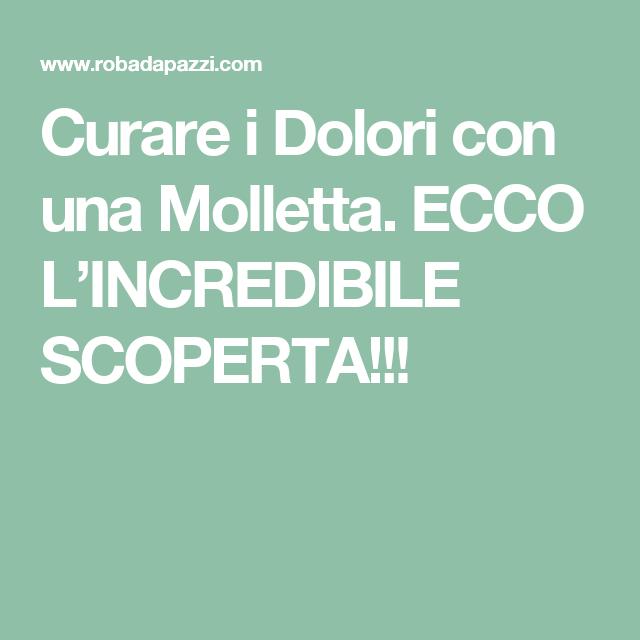 Curare i Dolori con una Molletta. ECCO L'INCREDIBILE SCOPERTA!!!