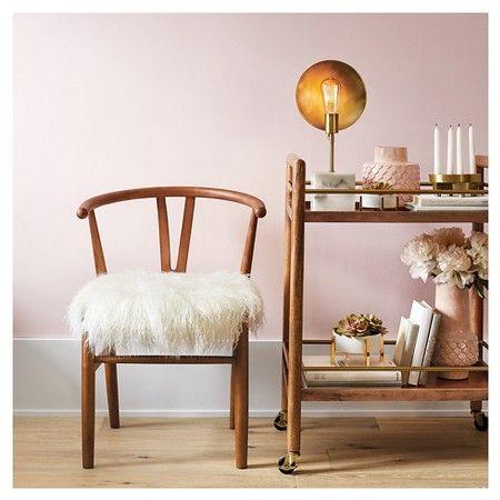Stupendous Wishbone Accent Chair White Threshold Target Machost Co Dining Chair Design Ideas Machostcouk