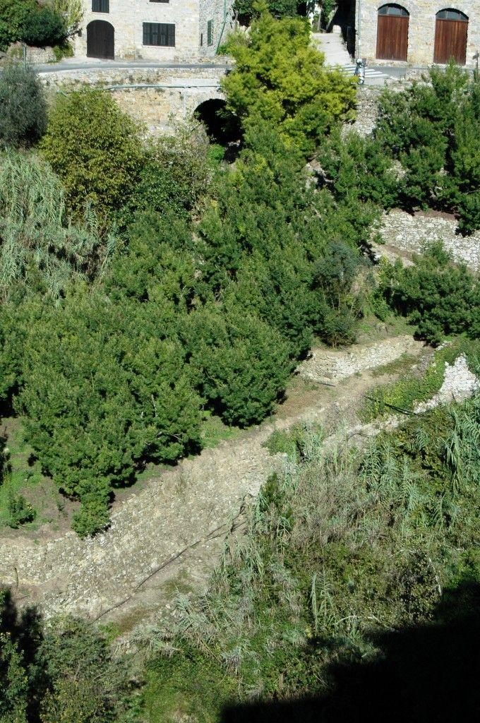 Apricale (IM), Val Nervia, scorcio