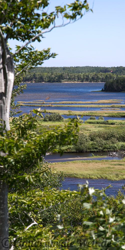 Under My Wheels Auf Nova Scotias größter Insel Cape Breton tuckern wir durch die Highlands und klingeln beim Erfinder des Telefons.