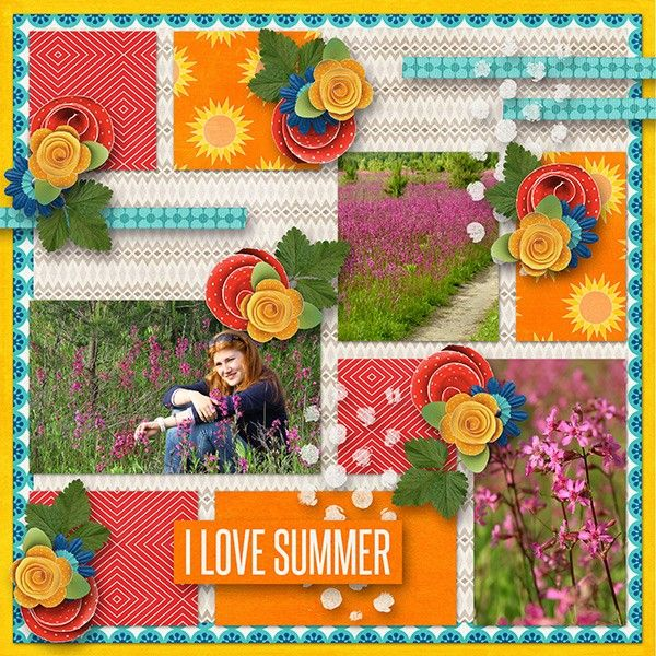 The Digichick :: Grab Bags :: Simple multiphoto templates Grab bag