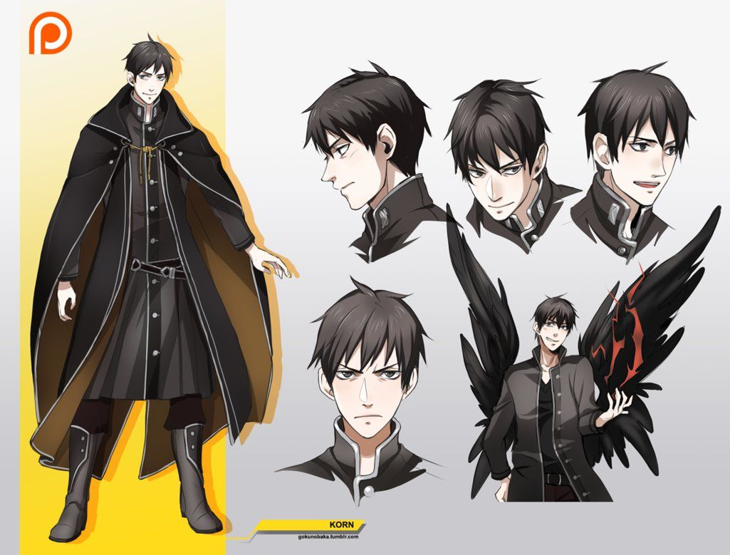 Korn Character Design By Goku No Baka On Deviantart Character Design Male Character Design Character Design Inspiration