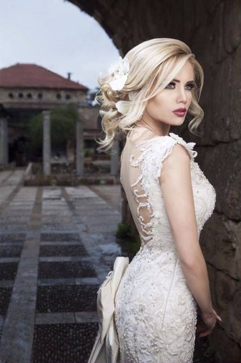 Rami Salamoun | Bridal style, Bride hairstyles, Bride