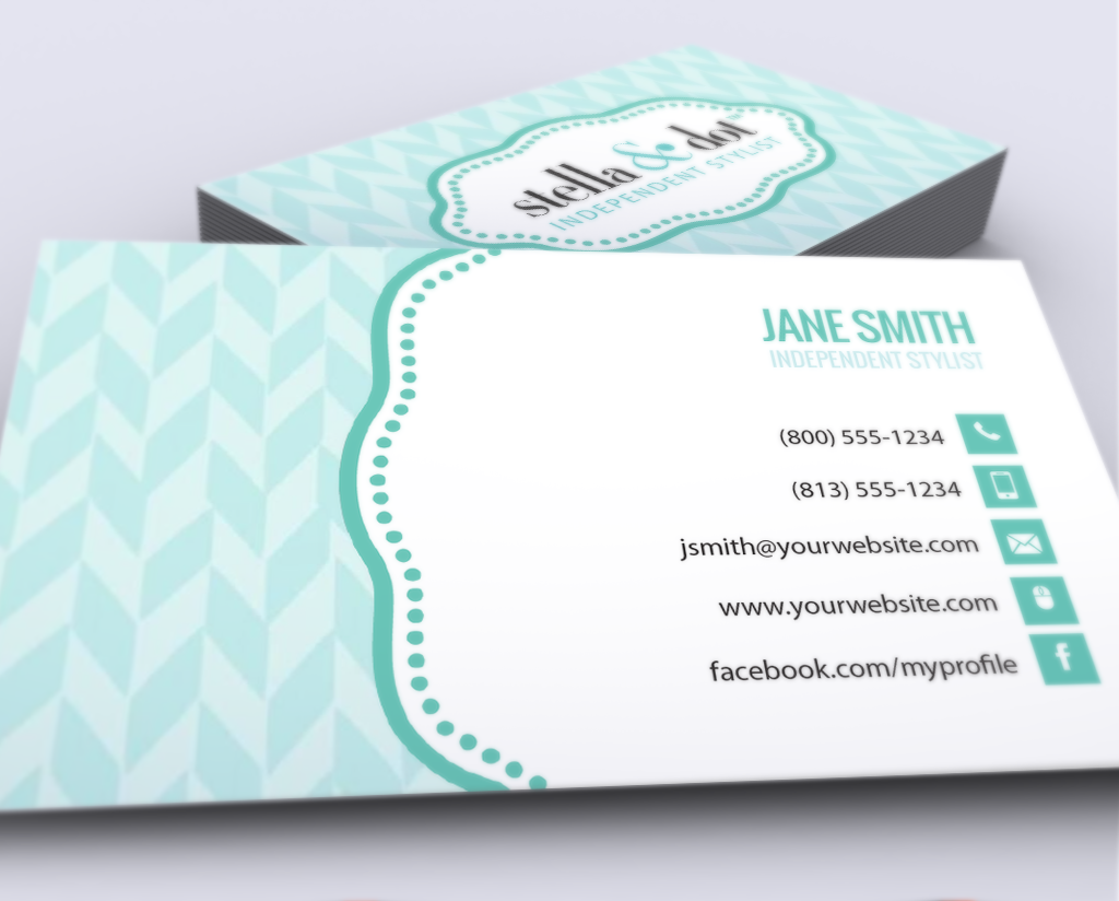 Stella and dot business cards business cards stella dot and business stella and dot business cards free shipping colourmoves