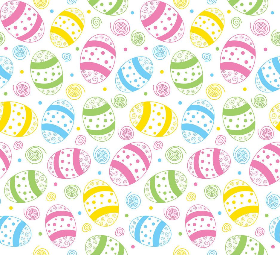 Easter gift wrap pattern design eggs spring colour mark easter spring seamless print pattern 3 by doncabanza negle Images