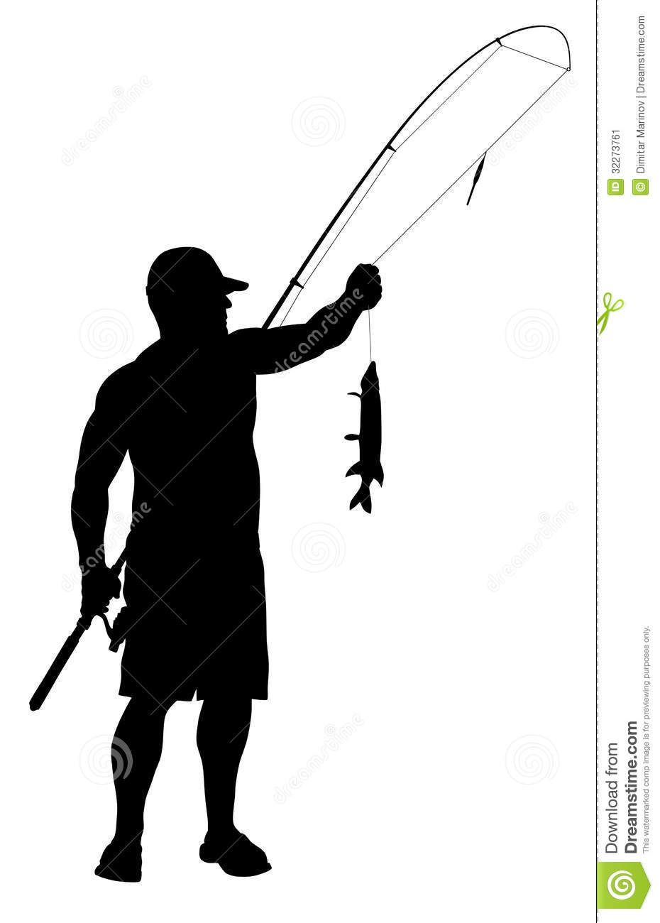 Download Man Fishing Silhouette Clipart Panda Free Clipart Images Fish Silhouette Man Fishing Silhouette Fisherman Silhouette