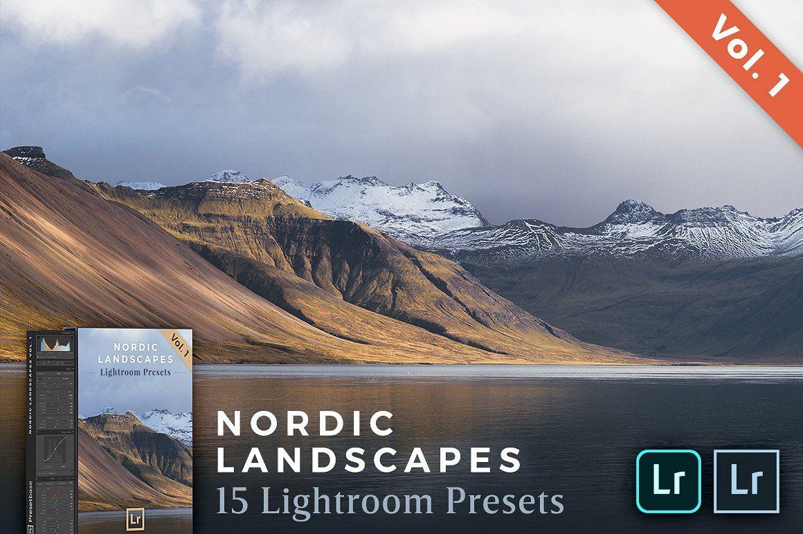 Lightroom Presets Nordic Landscapes Lightroom Presets Lightroom Installing Lightroom Presets