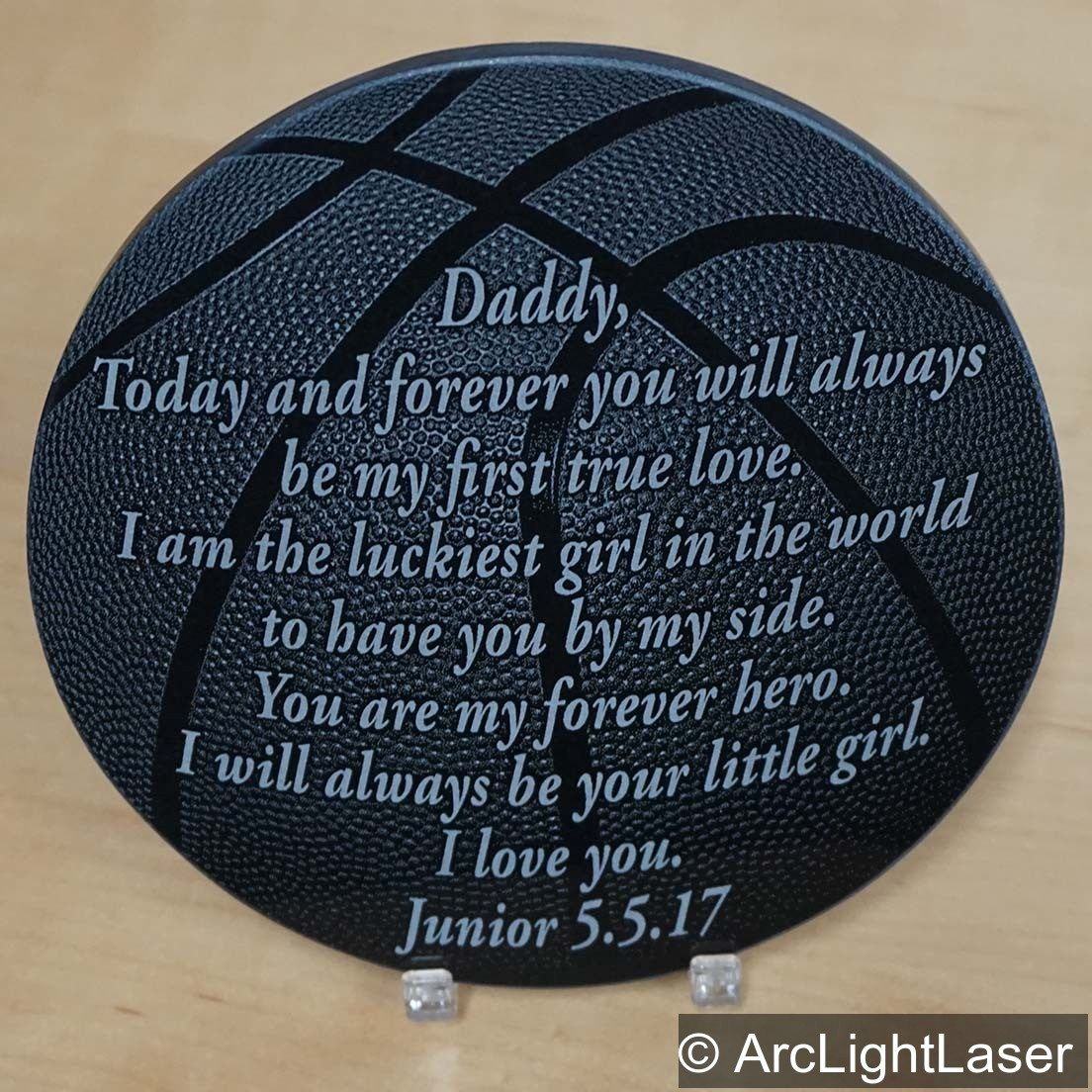 Sports Plaque Bride To Her Father Gift Custom Engraved Etsy Gifts For Father Custom Engraving Sports Plaque