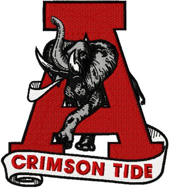 University Of Alabama Clip Art Alabama University Crimson Tide
