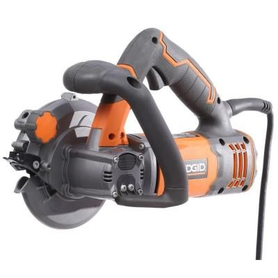 Ridgid 5 in 2 blade circular saw r3250 the home depot compact ridgid 5 in 2 blade circular saw r3250 the home depot greentooth Image collections