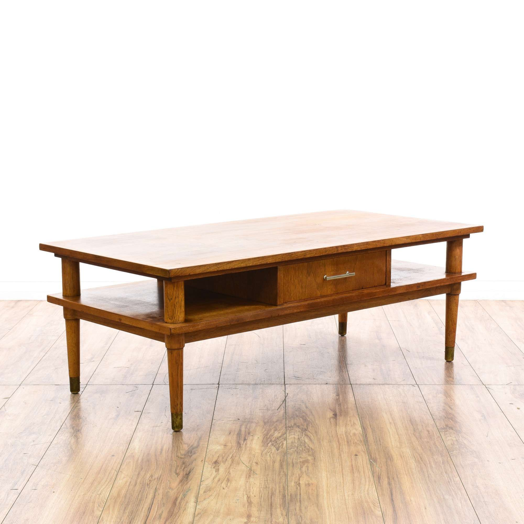 Drexel Biscayne Mid Century 2 Tier Coffee Table Coffee Table Mcm Furniture Table