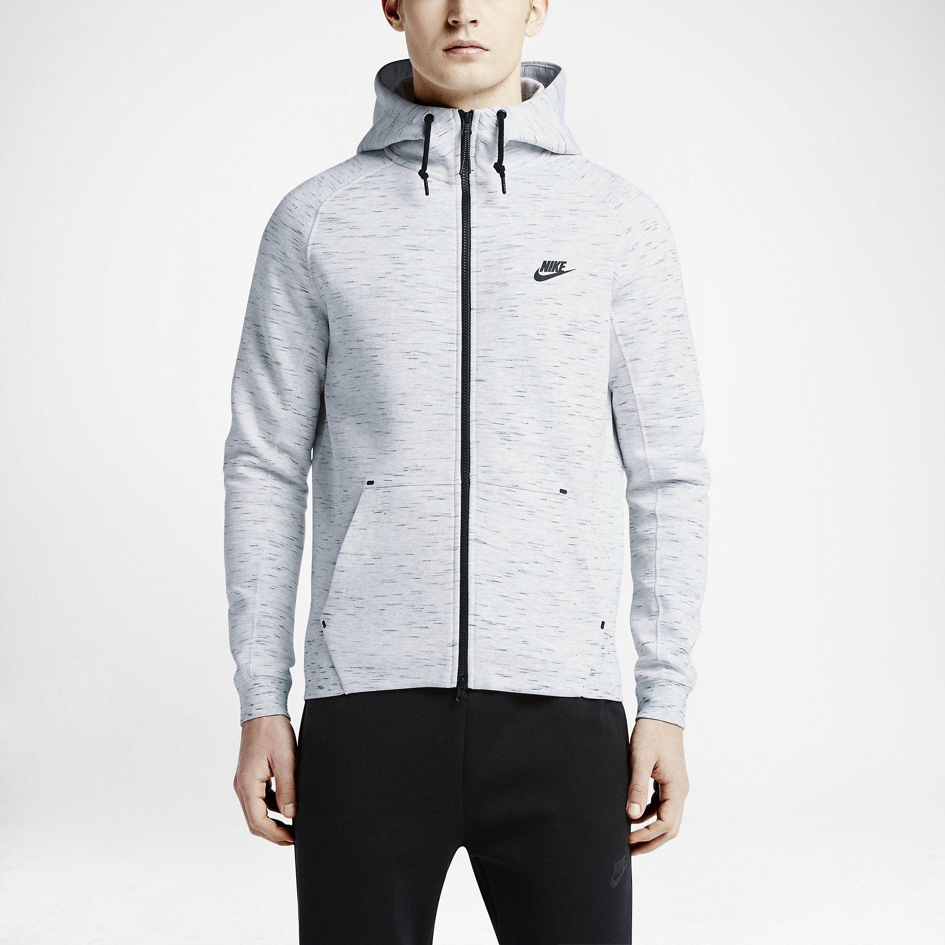 Nike tech fleece aw77 mens hoodie nike store nike tech