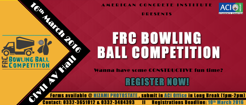FRC Bowling Ball Competition in Karachi  http://allevents.pk/events/FRC-Bowling-Ball-Competition-in-Karachi  #Competition #BowlingBall #FRC #KarachiEvent