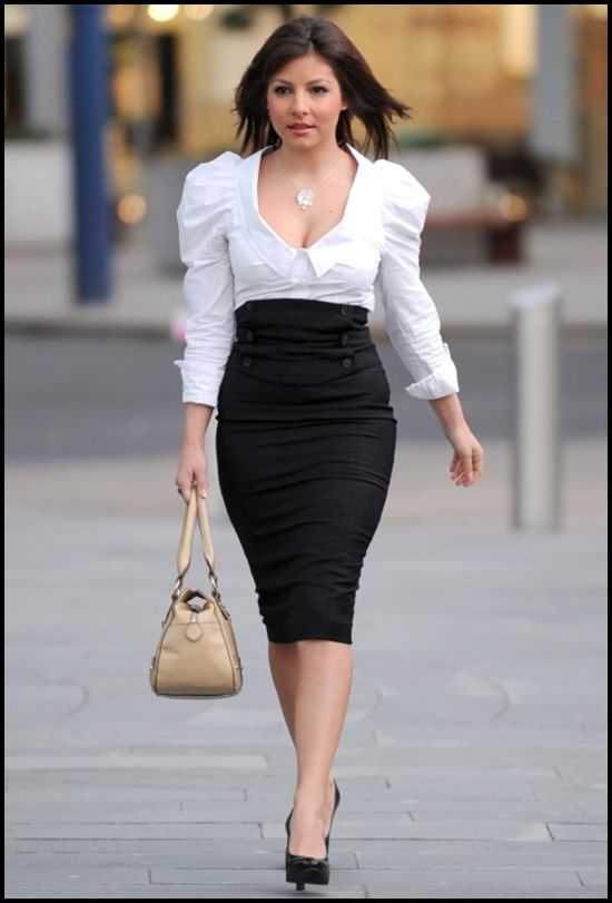 Pencil Skirts Best For Business And Working Women - Put In Style ...
