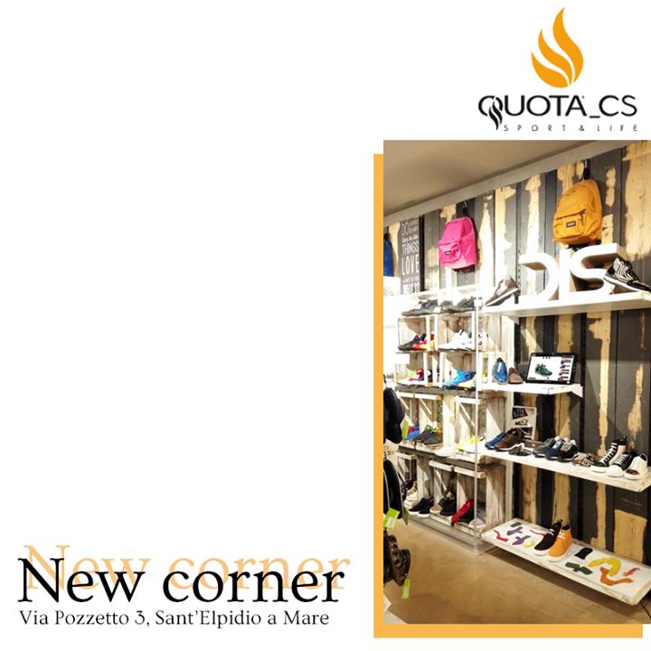 Meet DIS at Quota Cs Sport & Life  Un nuovo corner DIS ti aspetta da Quota Cs Sport & Life per toccare con mano la vera qualità Made in Italy e creare le tue calzature personalizzate. Vesti la tua Estate con stile!