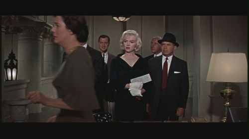 "Marilyn Monroe in ""Let's Make Love"" - marilyn monroe Screencap"