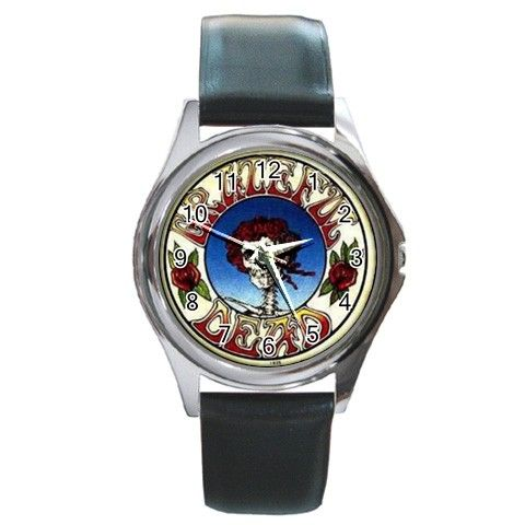 the-grateful-dead Round Metal Watch | Country music bands ...