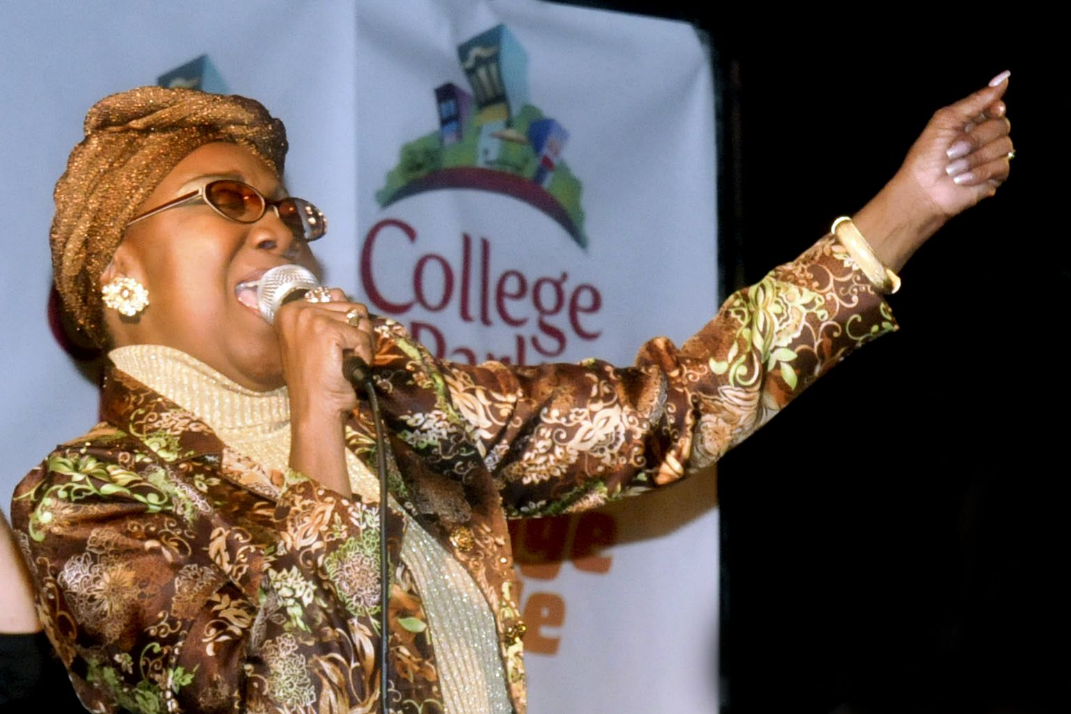 When the music strikes up this month at the College Park JazzFest, one of the voices to fill the air will be that of singer Jacqueline Jones. Although she was born in Gary, Indiana, she calls Orlan…
