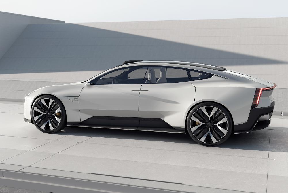 Polestar's Precept Is a Futuristic Electric Concept Aimed Straight at Tesla • Gear Patrol