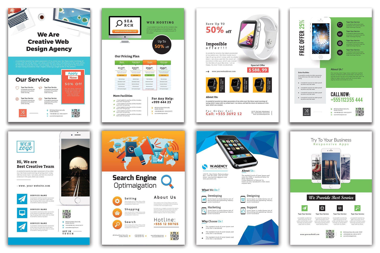 110 flyer template bundle 98 off by zaas on creativemarket best
