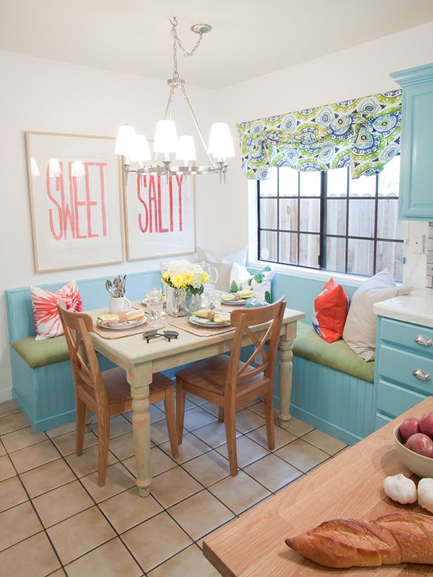 Pale Blue Dining Room From Design On A Dimelove This Look Even Custom Design On A Dime Kitchen Inspiration Design