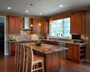 Kitchen Cabinets Palatial Cherry Wood Kitchen Cabinets Special Awesome Cherrywood Kitchen Designs Review