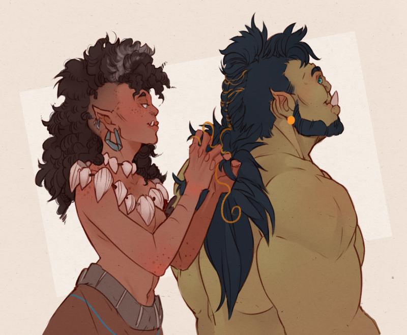 Character Design Inspiration Tumblr : Tumblr fantasy race orcs characters