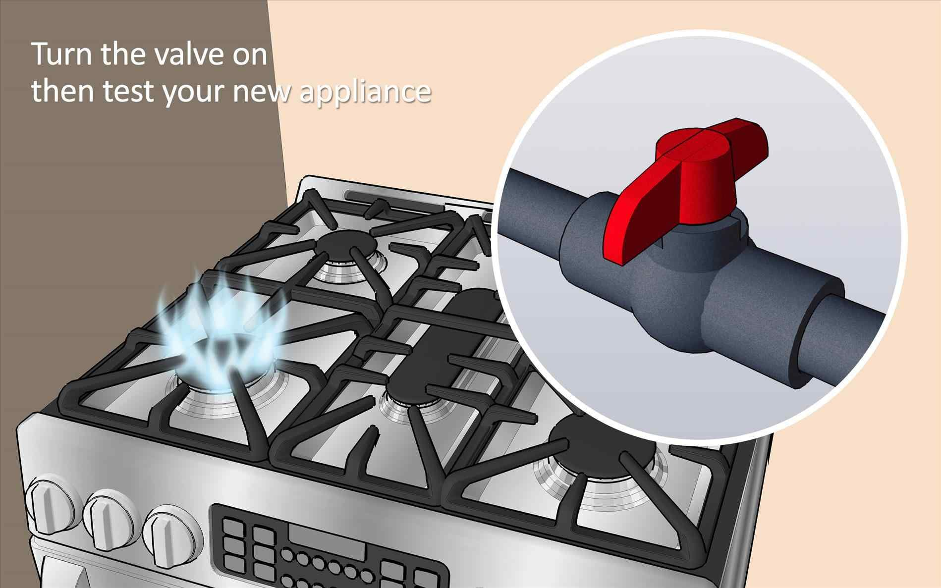 Fireplace Gas Valve Off Position - sit top mount 4-way ...